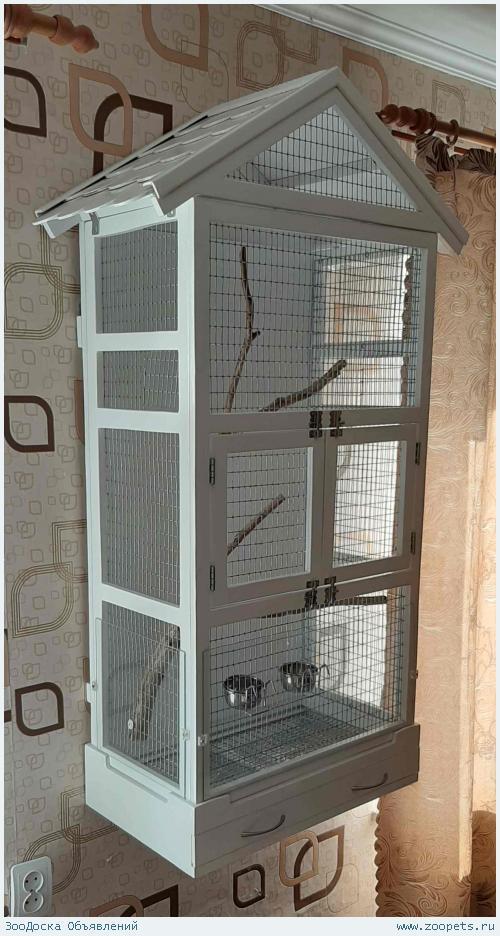 Клетки для птиц ручной работы.